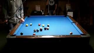 Midwest 9 Ball One Pocket Finals Joey Gray Vs Danny Smith (Nov 2nd 2013)
