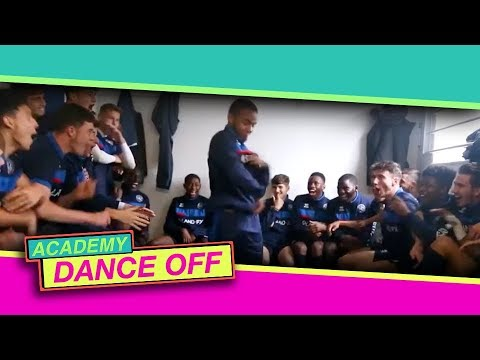 QPR Academy with dance moves to make you laugh or cry (or both) in the Total Tekkers Dance Off