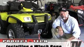 10. ATV Television - Installing an ATV Synthetic Winch Cable