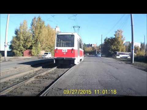 В Омске у трамвая на ходу отпал тяговый двигатель