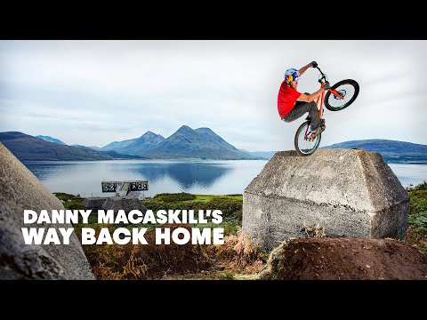 Danny MacAskill Way Back Home NEW street trials riding short