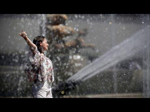 Καύσωνας: Το πιο θερμό σαββατοκύριακο διανύει η Ευρώπη
