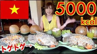 Video 【MUKBANG】 [IN Vietnam] 26 Elephant Fish Spring Rolls & 5 Unique Rice balls!! About 5000kcal[Use CC] MP3, 3GP, MP4, WEBM, AVI, FLV Juni 2018