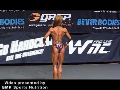Hot Swedish Fitness Figure girls T-Walk