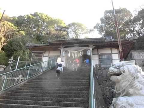 階段ダッシュ 南島原市加津佐町若木保育園の運動遊び