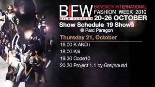 BANGKOK INTERNATIONAL FASHION WEEK 2010 ADS