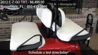 5. 2012 E-Z-GO TXT Shuttle 2+2 for sale in Pensacola, FL 32506