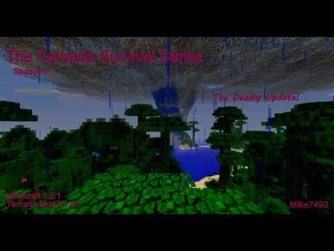 The Tornado Survival Series! ~Season 7, Episode 16 (Lookout Tower Complete!)