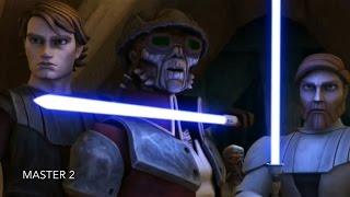 [Anakin & Obi-Wan Take Hondo as a hostage] Star Wars TCW Season 1 Episode 12 [HD]