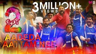 Video Aadeda Aattam Nee | Vadam Vali Song Lyric Video | Aadu 2 | Shaan Rahman | Jayasurya | Vijay Babu MP3, 3GP, MP4, WEBM, AVI, FLV Desember 2018