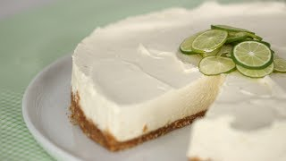 Key Lime No-Bake Cheesecake- Sweet Talk with Lindsay Strand by Everyday Food