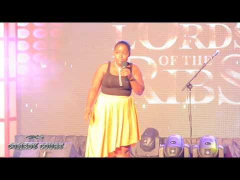 Heiress Jacinta ( QUEEN OF COMEDY IN GHANA) Jokes at The Lord of The Ribs 2016