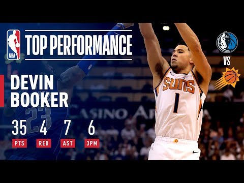 Video: Devin Booker Shows Out In Season Opener With 37 Points | October 17, 2018
