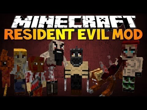 Mod Resident Evil : Minecraft + Pasta .Minecraft