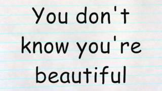 One Direction - What Makes You Beautiful Lyrics