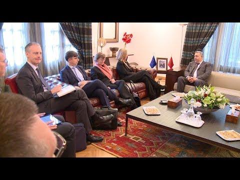 وزير الداخلية يتباحث بالرباط مع الممثلة السامية للاتحاد الأوروبي
