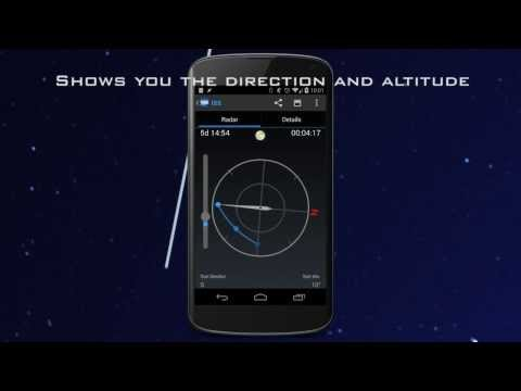 Video of ISS Detector Satellite Tracker