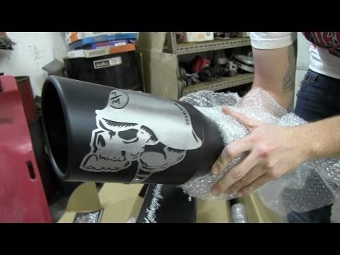Metal Mulisha Exhaust Unboxing/Install Hummer H3
