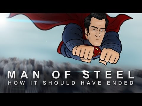 steel - The solution to stopping Zod isn't just a