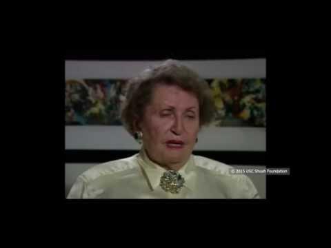 ניצולת שואה מנדבורנה שבפולין, מספרת על החיים בעיר לפני השואה