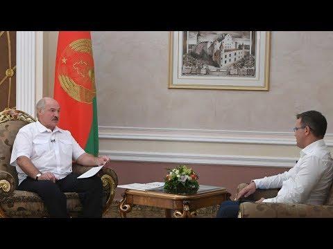 Интервью Президента Беларуси телеканалу \
