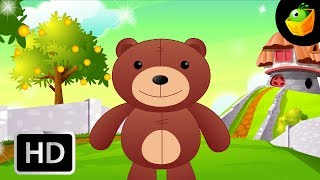 Teddy bear Teddy bear - English Nursery Rhymes - Animated/ Cartoon Songs For Kids