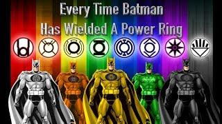 Video Every Time Batman Has Wielded A Power Ring MP3, 3GP, MP4, WEBM, AVI, FLV Januari 2019