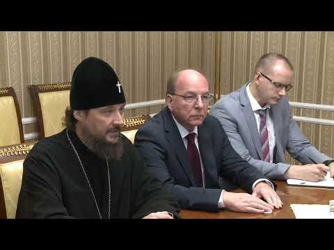 Президент Игорь Додон обсудил детали визита Патриарха Кирилла в Молдову