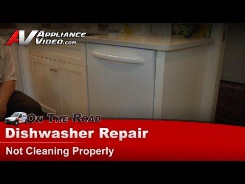 Kitchenaid Dishwasher Repair – Not cleaning properly – KUDC10FXWH1