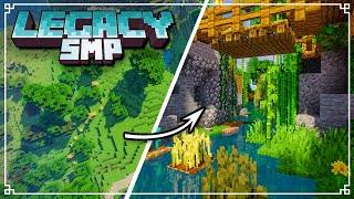 Legacy SMP - FOUR MAN River Terraforming Project! (Minecraft 1.16 Survival Multiplayer)