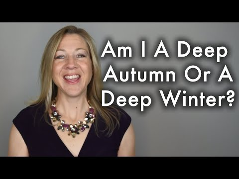 Q&A - Am I A Deep Autumn or Deep Winter?