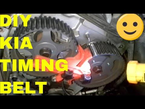 Kia Sorrento/Sedona: 3.5 Litre Engine/Timing Belt/Crank Sensor/Water Pump Repair and/or Replacement