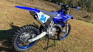 3. First Ride 2020 Yamaha YZ125X 2 Stroke - Motocrosss Action Magazine