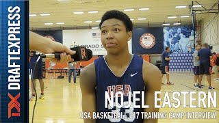 Nojel Eastern USA Basketball U17 Training Camp Interview