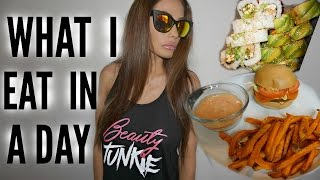 VEGAN WHAT I EAT IN A DAY by Channon Rose