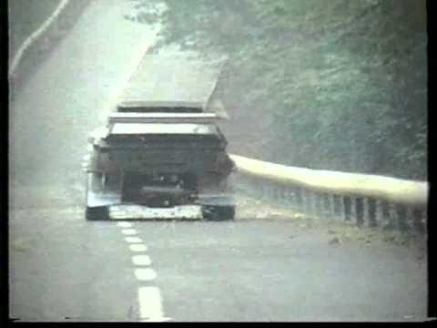 lancia delta s4 nera: primi test filmati (1984)
