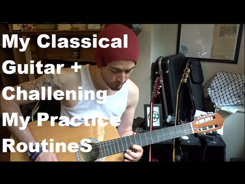 Coffee time with Samer - My classical guitar and my practice routine
