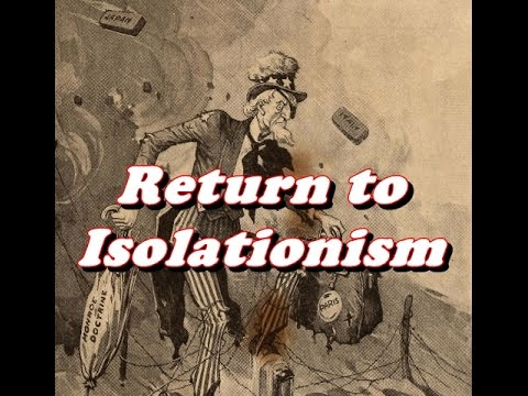 History Brief: 1920s Return to Isolationism