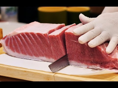 [4K]200KG 생참치 회뜨기 2탄 2부_오우가시 참치 해체_Giant Tuna Cutting Show ep2 part 2_Japanese food - Thời lượng: 24:54.