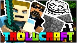 Minecraft | KILLING COBBLE IN SSUNDEES BASE TROLL!! - Troll Craft
