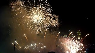 Singapore Fireworks 2015 - New Year's Eve Fireworks Singapore SG50