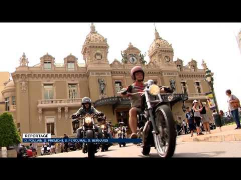 Les Harley Davidson en fête à Monaco