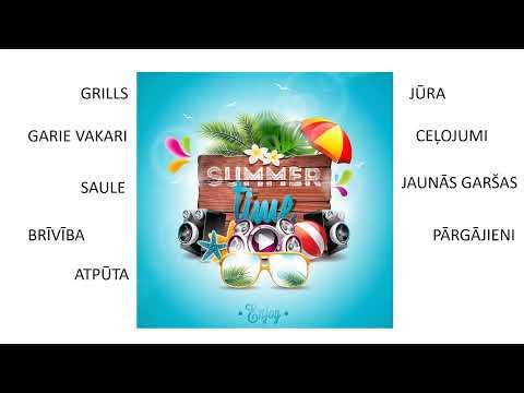 Bērnu uzturs vasarā