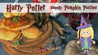 DIY Harry Potter SAVORY Pumpkin Pasties