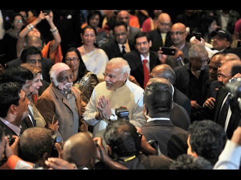 PM Modi at Reception hosted by Mayor, Durban City Hallin Durban, South Africa