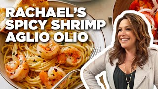 Spicy Shrimp Aglio Olio-Food Network
