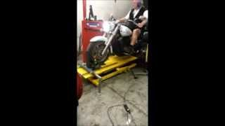9. Yamaha V star 1300 Dyno Day