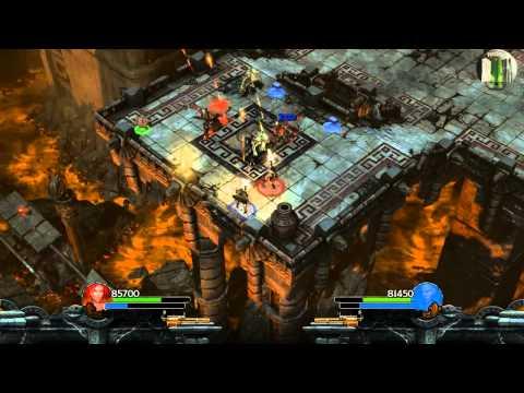 Let's Play Together Lara Croft and the Guardian of Light #017 [Deutsch] [HD] - Feuerwahnsinn