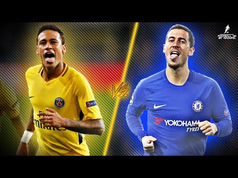 Eden Hazard VS Neymar JR 2017/18 | Who Is The Most Skillful 17/18? ● HD 1080p