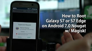 In this tutorial, I show you how to root the Samsung Galaxy S7 or Galaxy S7 Edge on latest Android 7.0 Nougat w/ Magisk.  This root does NOT WORK on U.S. models!For downloads, list of models that work with this root, and step-by-step written instructions, go here:http://galaxys7root.com/galaxy-s7-s7-edge-root/how-to-root-galaxy-s7-or-s7-edge-on-android-7-0-nougat-w-magisk/-----------------------------------------Join the HighOnAndroid VIP Fans List for free help from Max and discounts on Android accessories:http://highonandroid.com/newsletter.phpYouTube Audio Library Credits:Mr PinkEDM Detection Mode by Kevin MacLeod is licensed under a Creative Commons Attribution license (https://creativecommons.org/licenses/by/4.0/)Source: http://incompetech.com/music/royalty-free/index.html?isrc=USUAN1500026Artist: http://incompetech.com/